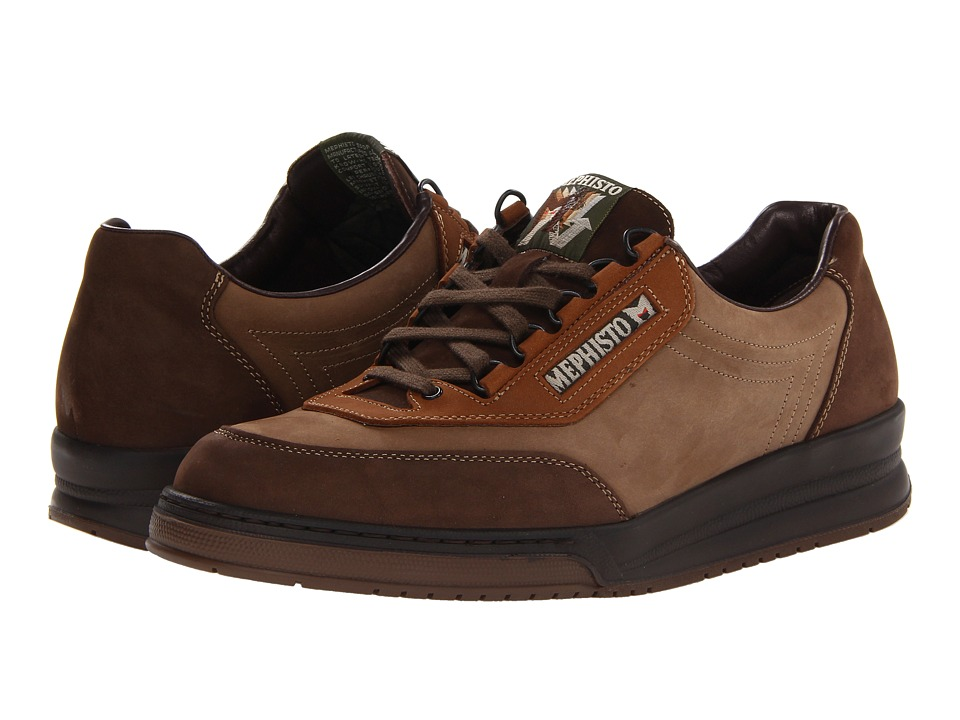 Mephisto - Match (Dark Brown/Camel/Hazelnut Nubuck) Men