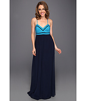 Badgley Mischka - Thin Strap Maxi Dress