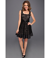 Badgley Mischka - Lace Fit N Flare Dress