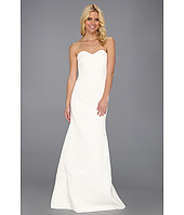 Badgley Mischka - Strapless Textured Gown