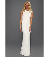 Badgley Mischka - Beaded Cowl Back Gown