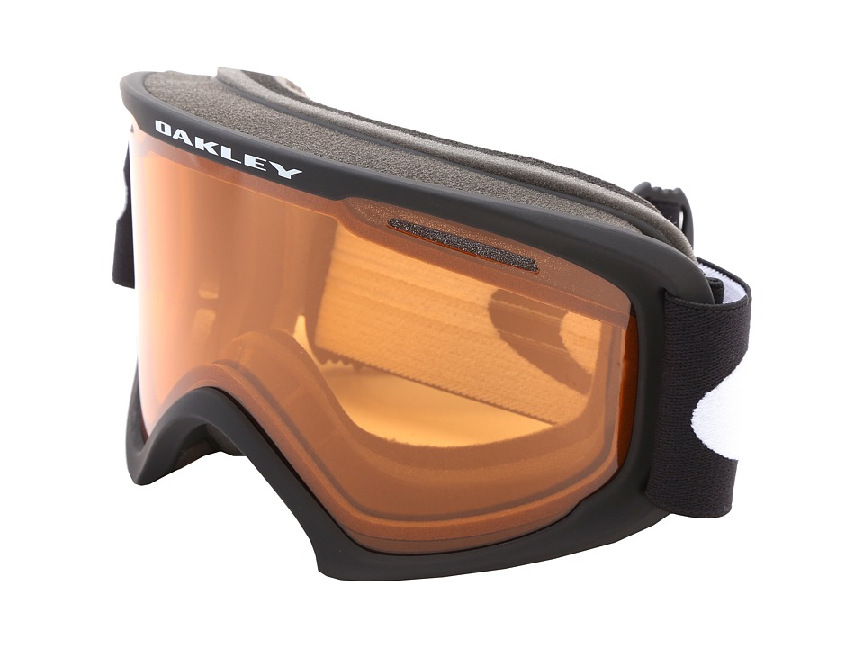 Oakley 02 XL (Matte Black w/Persimmon) Snow Goggles