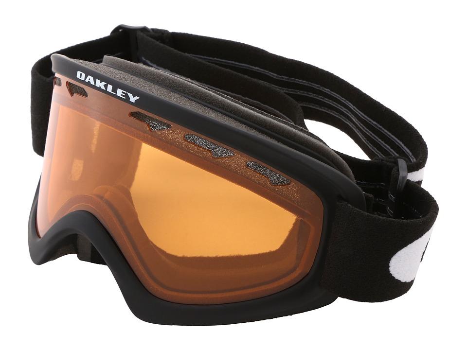 Oakley - 02 XS (Matte Black w/Persimmon) Snow Goggles