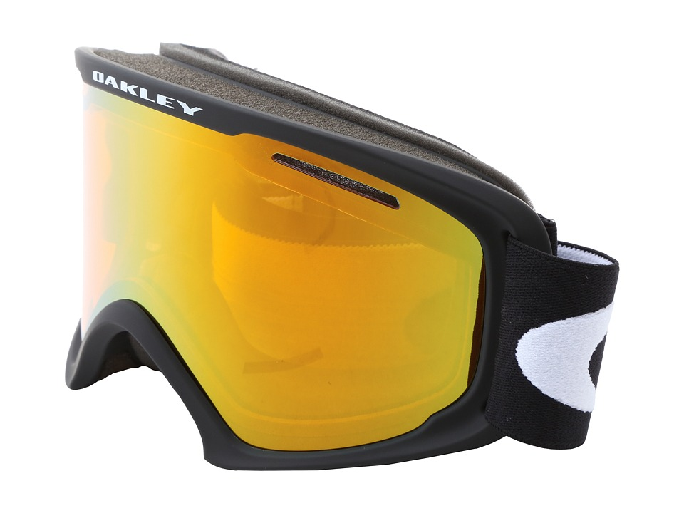 Oakley 02 XL (Matte Black w/Fire Iridium) Snow Goggles
