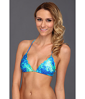 Luli Fama - Antojitos De Mar Crystallized Wavey Triangle Bikini Top