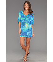 Luli Fama - Antojitos De Mar Ruffle V-Neck Dress Cover-Up
