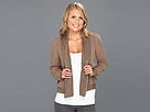 Brigitte Bailey - Alaya Woven Jacket (Taupe) - Apparel