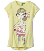 United Colors of Benetton Kids - Girls' Sequin Girl Screen Tee (Little Kids/Big Kids)