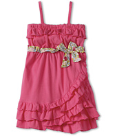United Colors of Benetton Kids - Girls' Ruffle Tank Dress w/ Bow (Toddler)