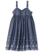United Colors of Benetton Kids - Girls' Chambray Dress w/ Embroidery (Little Kids/Big Kids)