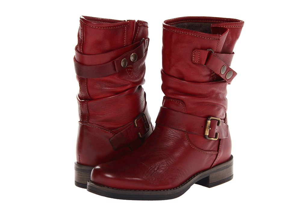Eric Michael Laguna (Red) Women's Pull-on Boots