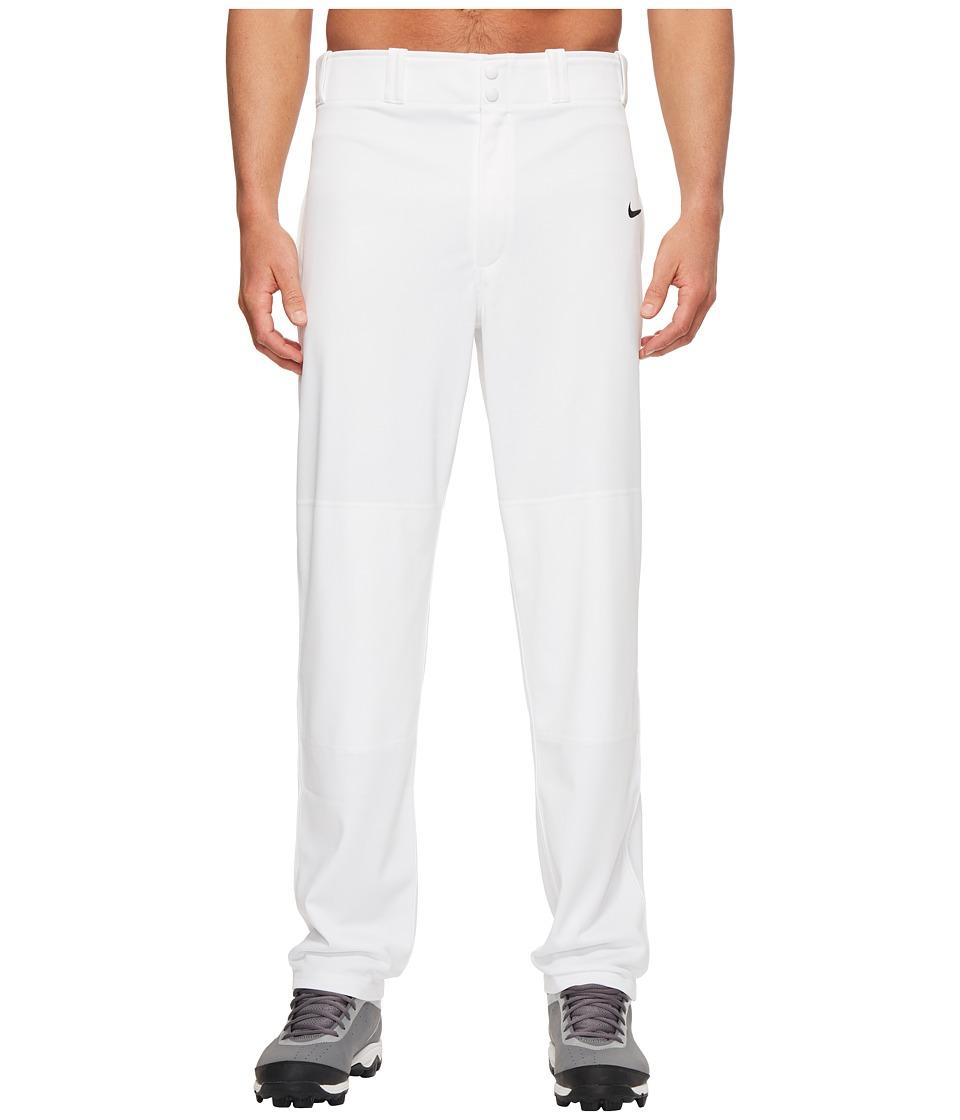 Nike - Core Baseball Pant (Team White/Team Black) Mens Workout
