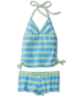 Hurley Kids - Surfside Strip Tankini & Boyshort (Big Kids)
