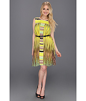 Jessica Simpson - Block Pleated Dress