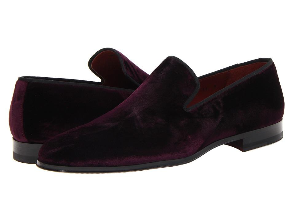 Magnanni - Dorio (Velvet Burgundy) Mens Slip on  Shoes
