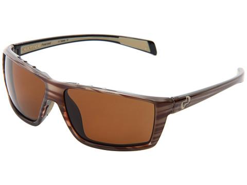 Native Eyewear Sidecar - Wood/Brown Lens
