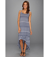 Allen Allen - Long Cami Diagonal Dress