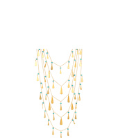 LAUREN Ralph Lauren - 5 Row Teardrop Multi Beads Necklace