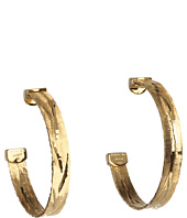 Roberto Coin - Diamond Cut Hoop Earrings