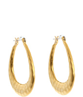 LAUREN Ralph Lauren - Large Hammered Click It Hoop Earrings
