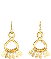 LAUREN Ralph Lauren - Small Metal Teardrop Hoops Earrings