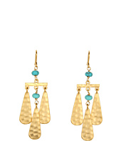 LAUREN Ralph Lauren - Small Teardrop And Multi Bead Chandelier Earrings