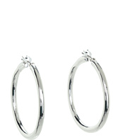 LAUREN Ralph Lauren - Large Tube Click It Hoop Earrings