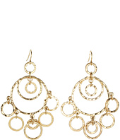 LAUREN Ralph Lauren - Large Multi Ring Chandelier Earrings