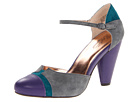 Seychelles - Just An Illusion (Grey/Emerald) - Footwear