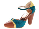 Seychelles - Just An Illusion (Teal/Yellow) - Footwear