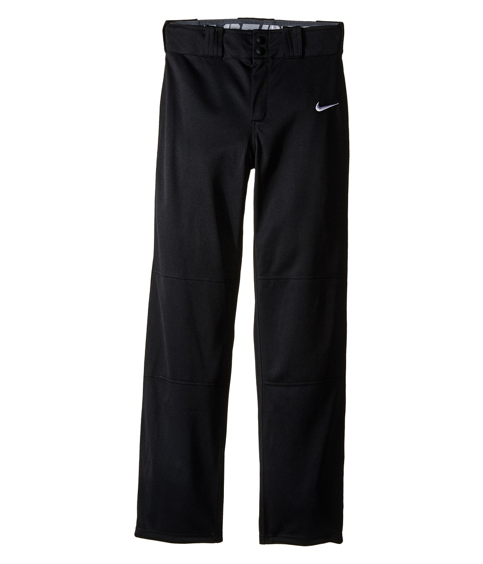 Nike Kids STK Baseball Longball Pant Little Kids/Big Kids Black/White Boys Workout