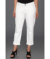 KUT from the Kloth - Plus Size Catherine Boyfriend Jean in White