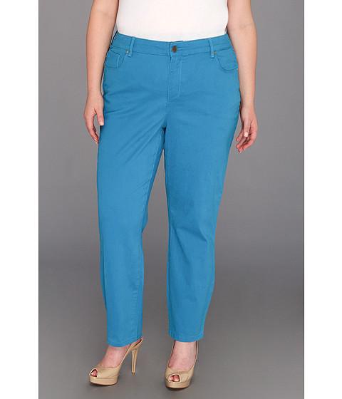 Anne Klein Plus Plus Size AKJ - Leo Skinny Jean - Watercolor (Capri) Women's Jeans