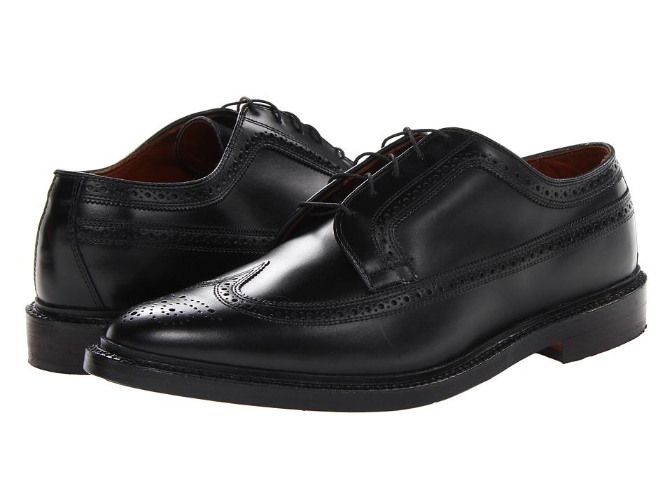 Allen Edmonds MacNeil Black Custom Calf Mens Lace Up Cap Toe Shoes