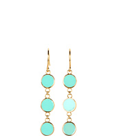gorjana - Bloom Disc Drop Earrings