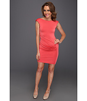 ABS Allen Schwartz - Fitted Dress With Front Drape