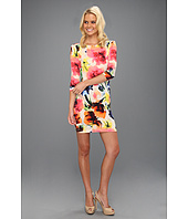 ABS Allen Schwartz - Watercolor Floral Tee Dress