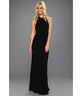 ABS Allen Schwartz - Tank Gown With Vertical Frt Gathered Tucks