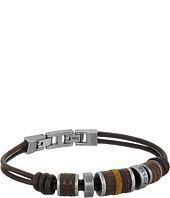 Fossil - Rondell Leather Bracelet