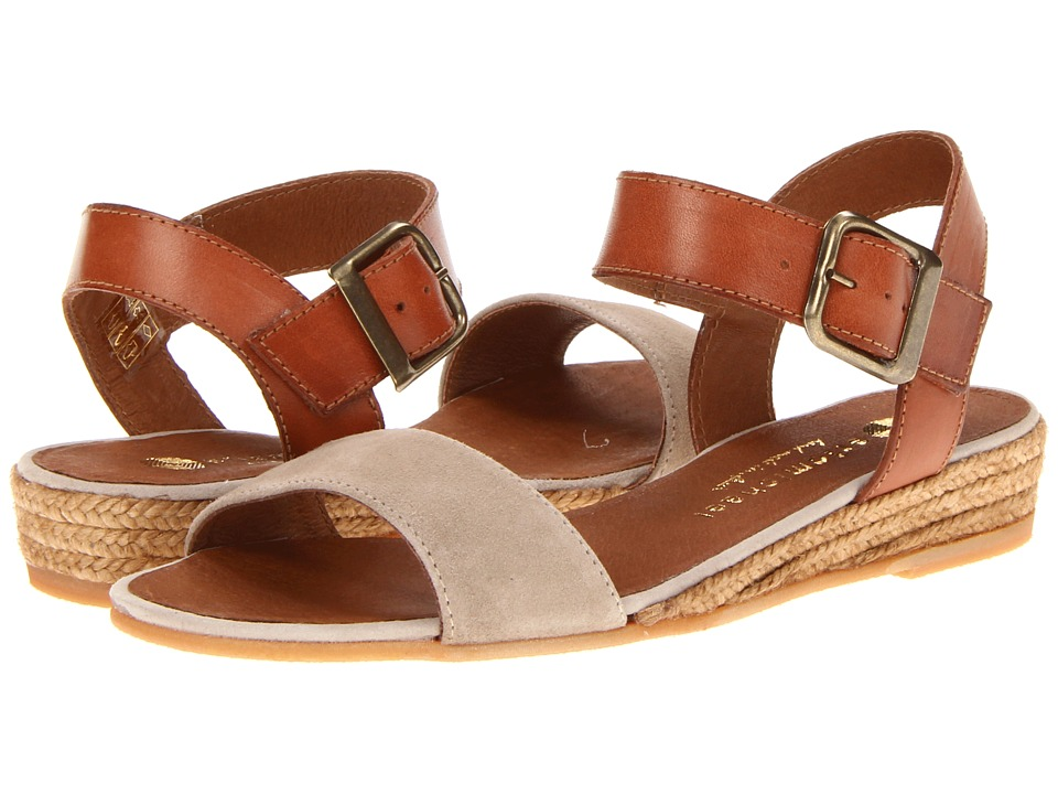 Eric Michael Amanda Taupe Womens Sandals