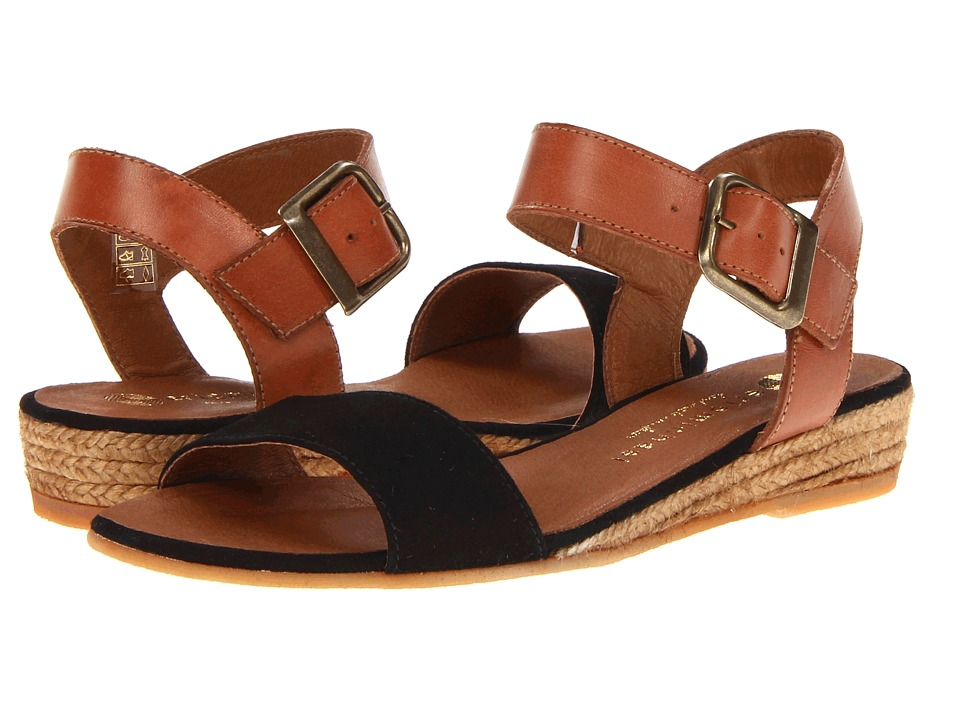 Eric Michael Amanda Black Womens Sandals