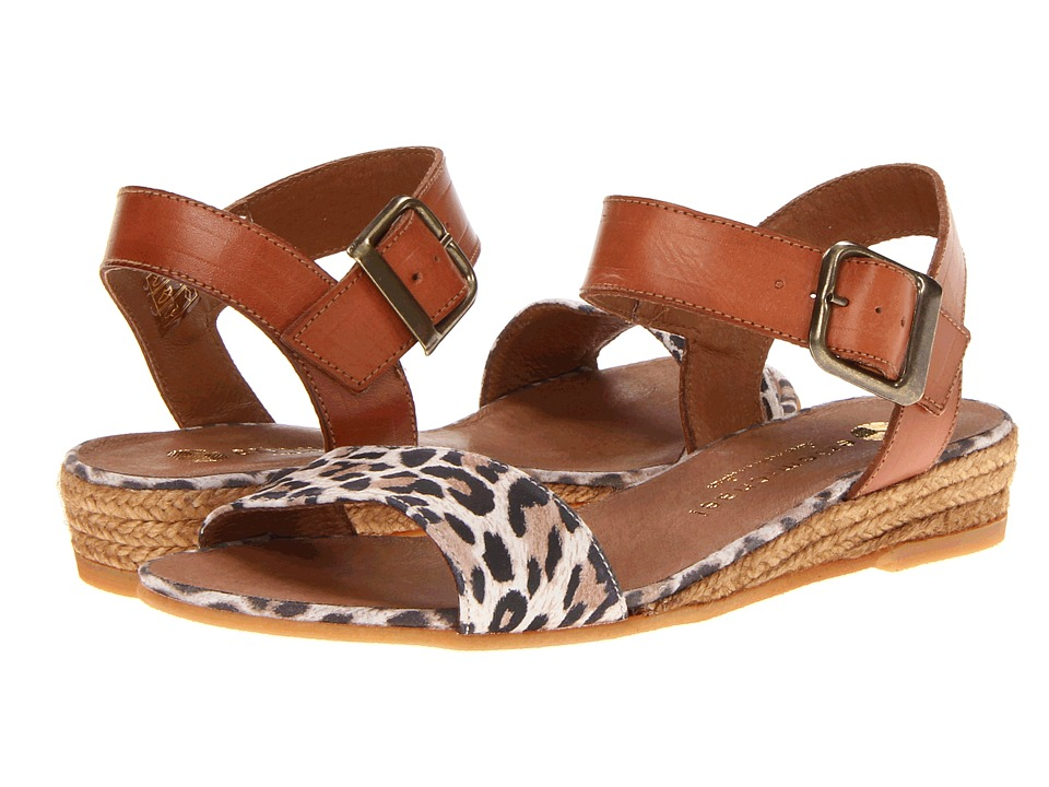 Eric Michael Amanda Leopard Womens Sandals