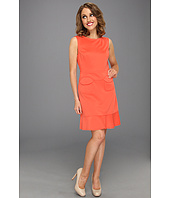 Suzi Chin for Maggy Boutique - Sleeveless Scoop Neck Dress