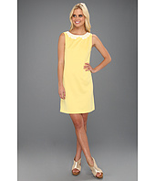 Suzi Chin for Maggy Boutique - Sleeveless Scoop Neck Sheath
