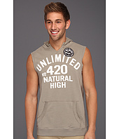 Ecko Unltd - Natural High Sleeveless Hoodie
