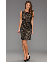 Vince Camuto - Side Draped Lace Dress