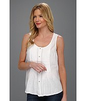 Jones New York - Pleated Button Front Tank