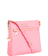 DKNY - Saffiano Leather Top Zip Crossbody