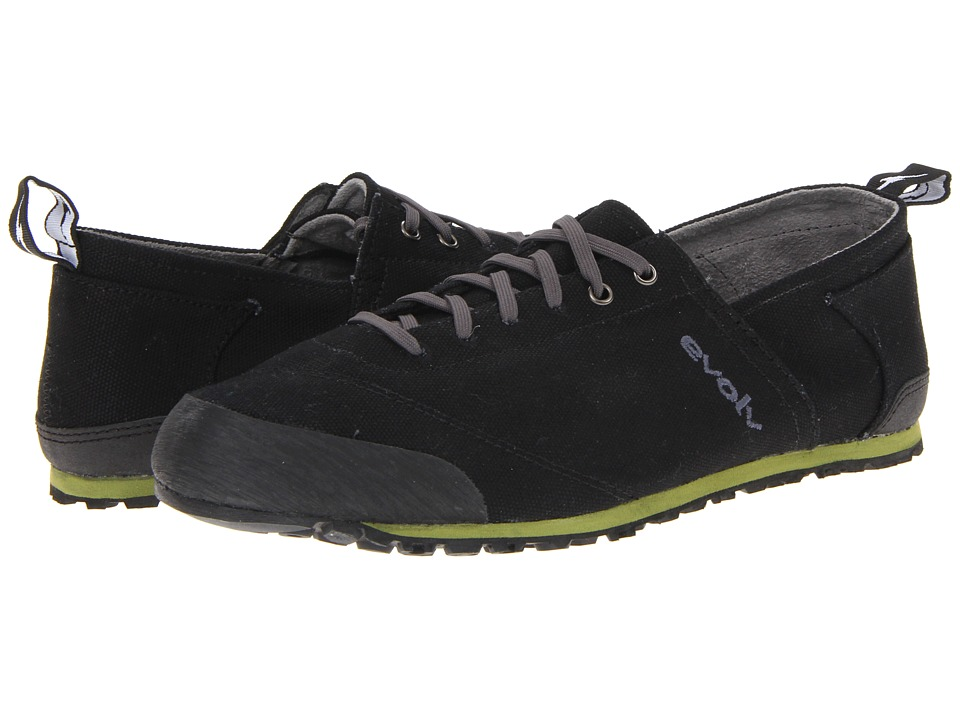 EVOLV Cruzer Black Mens Walking Shoes