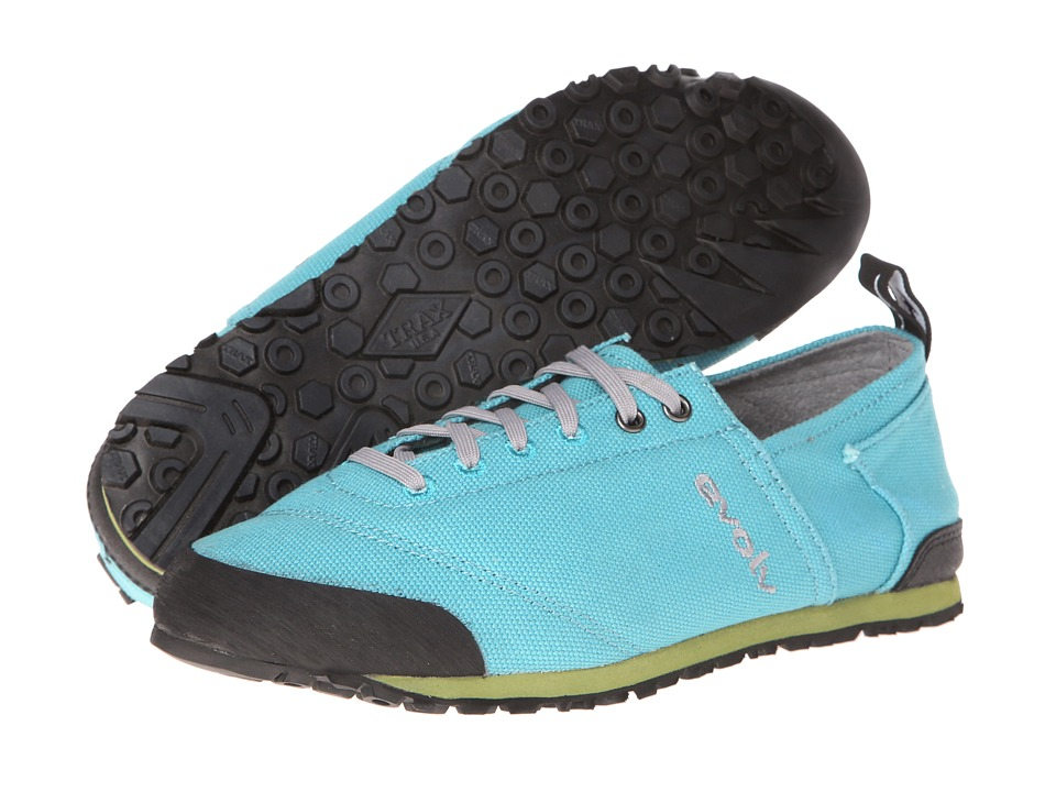 EVOLV Cruzer Turquoise 1 Womens Lace up casual Shoes